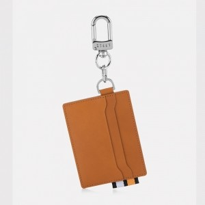 Basic Card wallet key ring